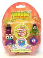 Moshi Monsters Series 6 - 5 Pack Egon Groanay, Billy Bob Baitman, Linton, Trixie